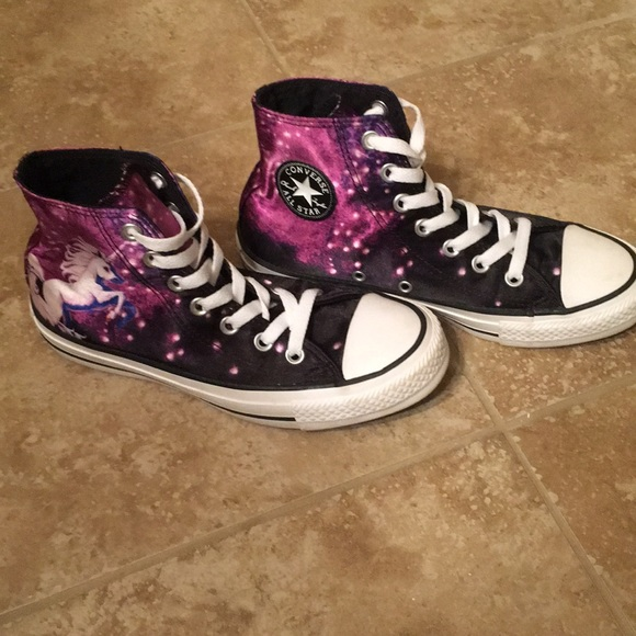 5b668c94e52 Converse Shoes - Limited edition Unicorn Galaxy Converse